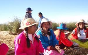 paysannes au Pérou