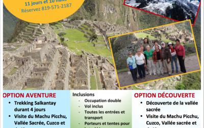 Voyage au Pérou