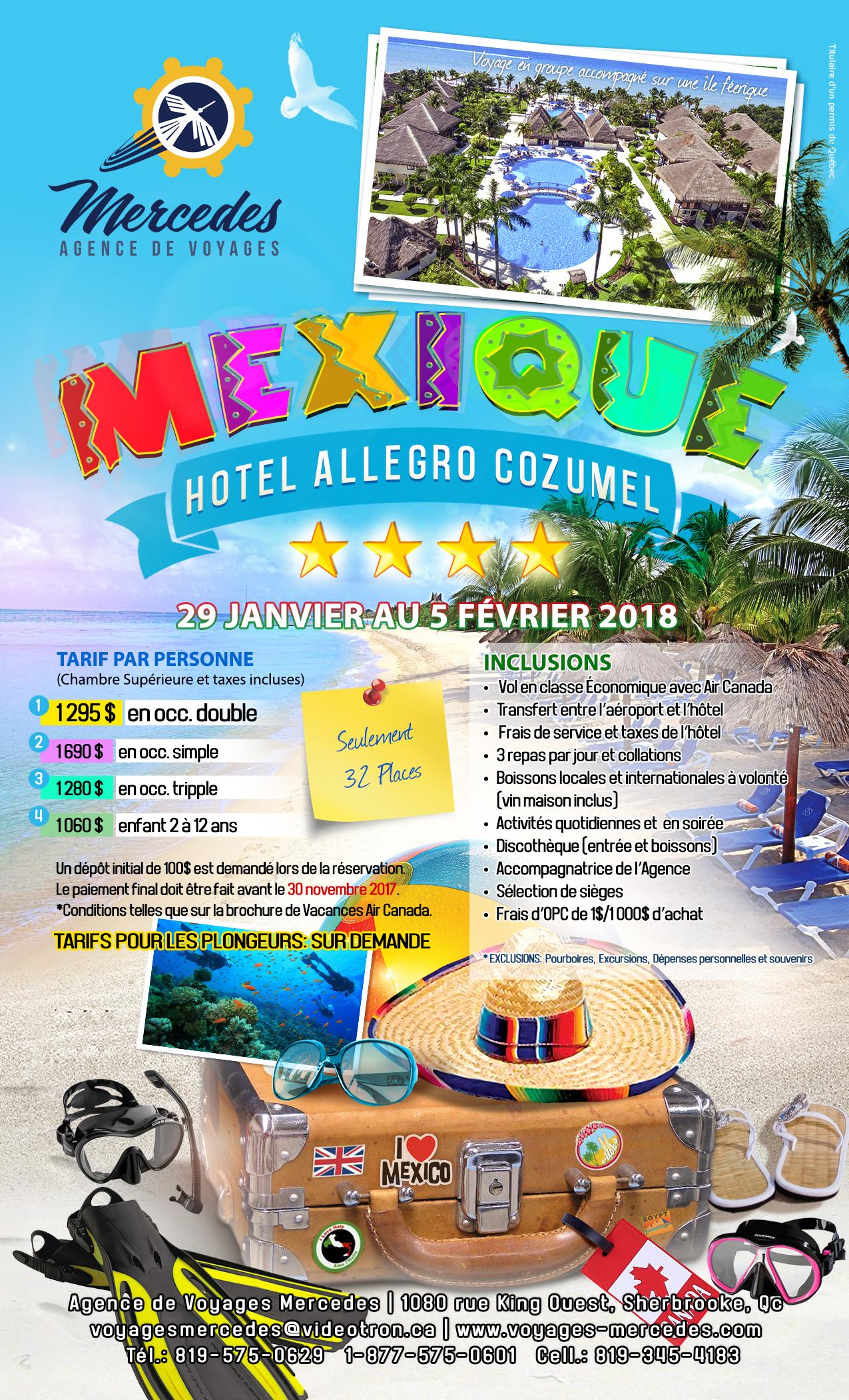 Forfait Mexique