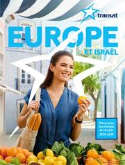 TRANSAT BROCHURE - EUROPE et Israël - 2018-2019